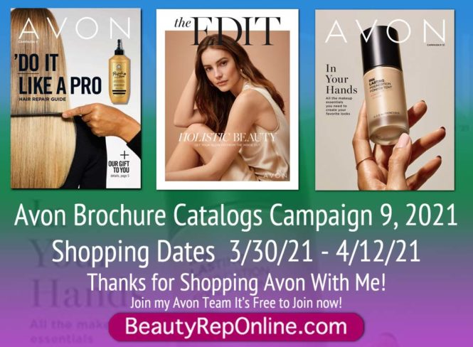 Avon Brochure Campaign 9, 2021 | Latest Avon Catalog