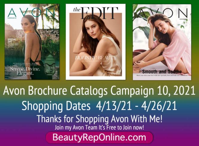 Avon Brochure Catalog Campaign 10