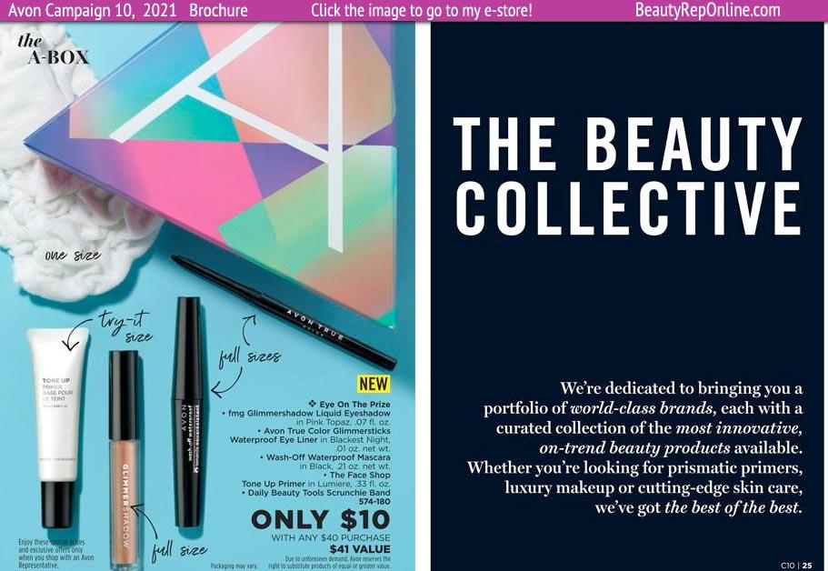 Avon Brochure Catalog Campaign 10 - The Avon A-Box