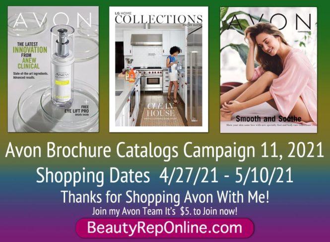 Avon Brochure Campaign 11 | Avon Catalog Campaign 11