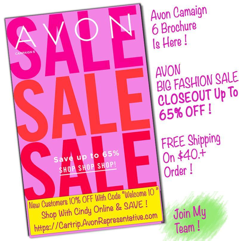 Avon Campaign 6 Brochure 2019