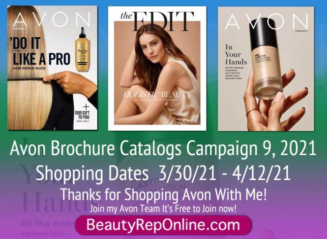 Avon Brochure Campaign 9, 2021   Latest Avon Catalog